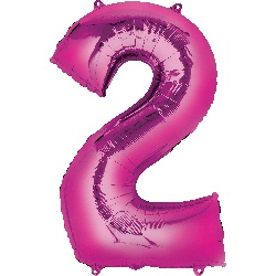 pink-foil-balloon--number-2