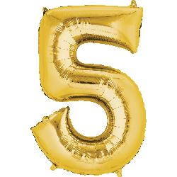 gold-foil-balloon--number-5