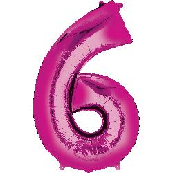 pink-foil-balloon--number-6