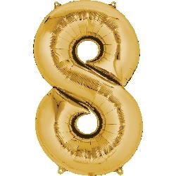 gold-foil-balloon--number-8