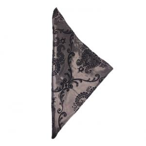 silver-and-black-damask-napkin