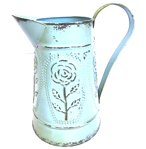 vinage-rose-teal-jug-large