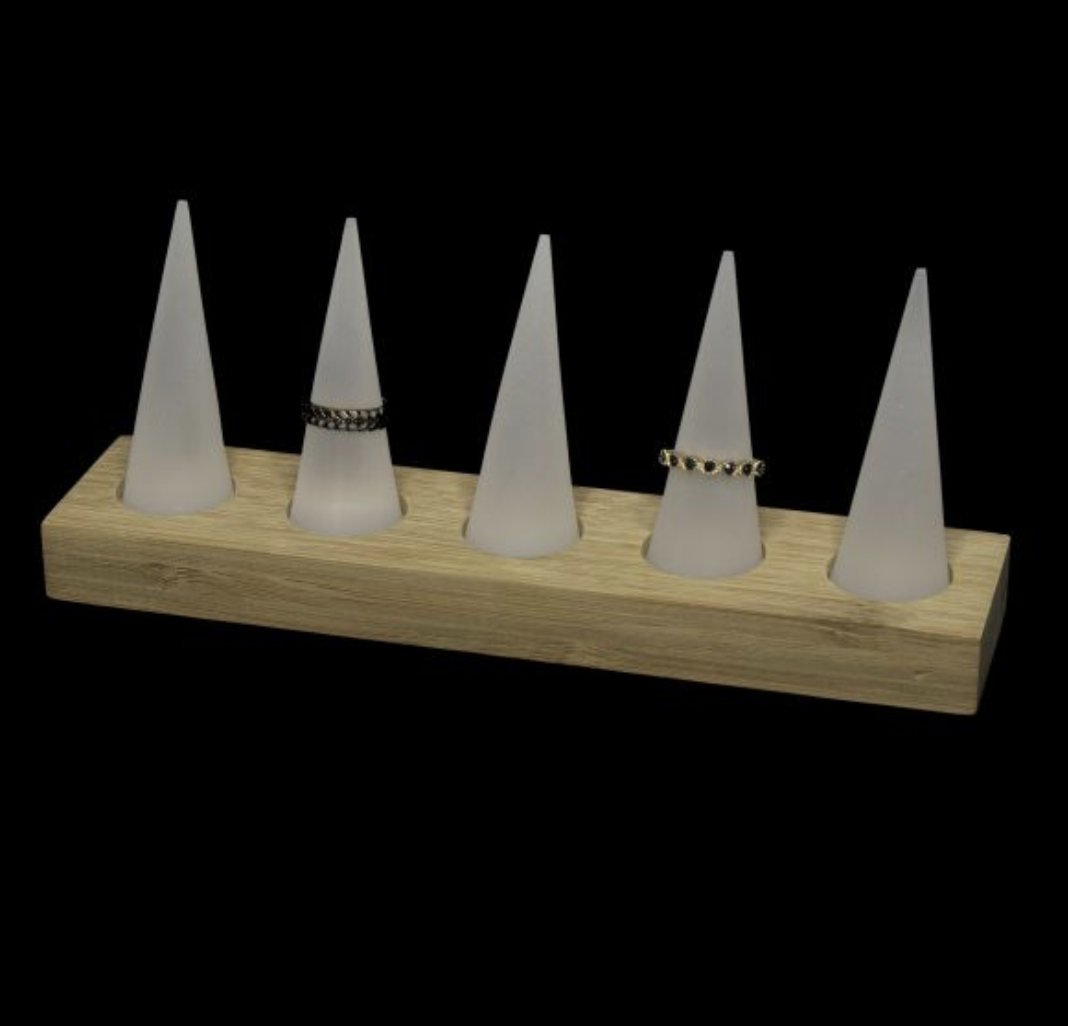 acrylic-cone-ring-tray-holder