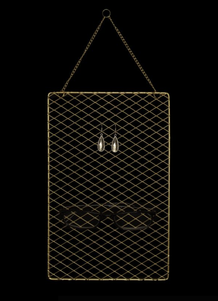 gold-metal-grid-hanger